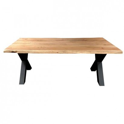 Dining table X legs in...
