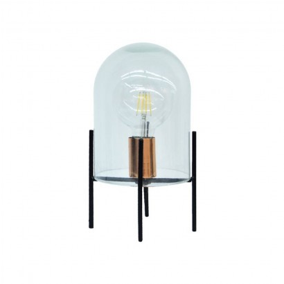 Glass bell lamp + Led bulb...