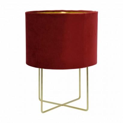 JAMESON velvet table lamp...