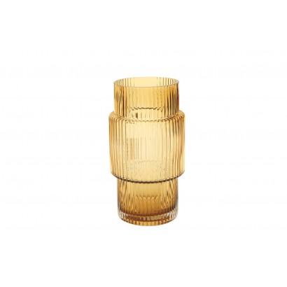 Vase ONOMICHI en verre H25 cm