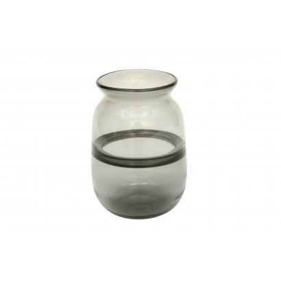 Vase TOYOAKE en verre H18 cm