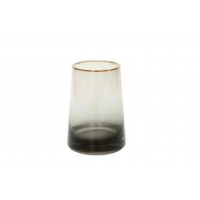 Vase IWAKURA en verre H19 cm