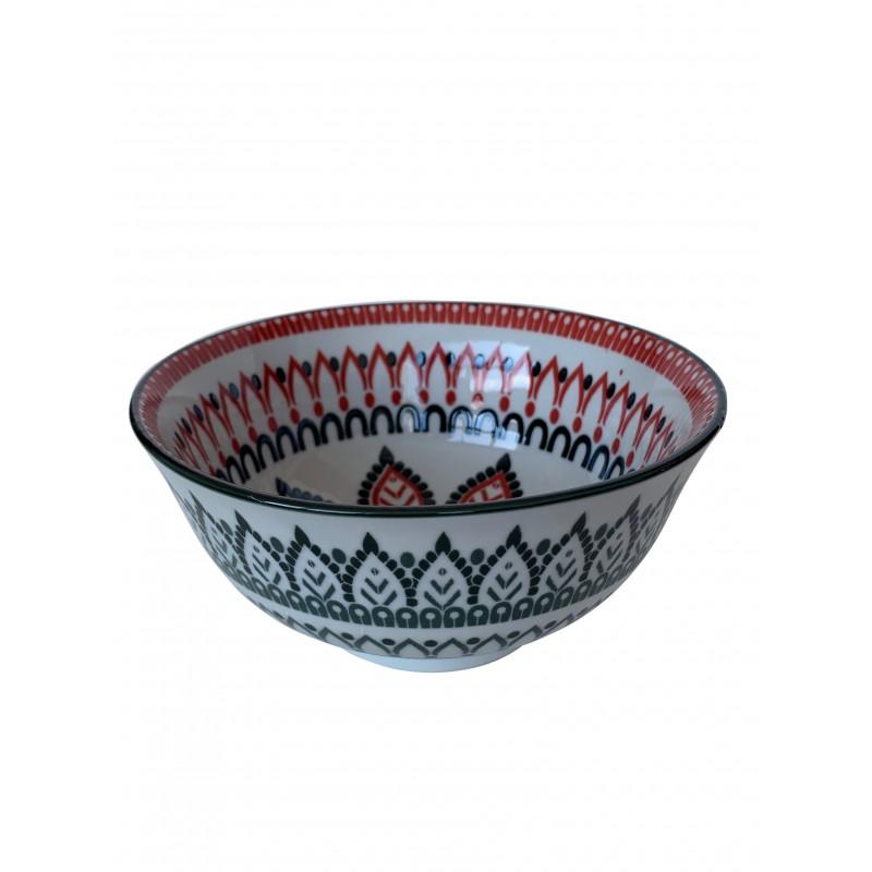 NAGAWIKA assiette creuse en céramique D16 cm