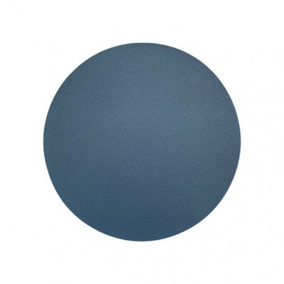 Leather place mat pu round...