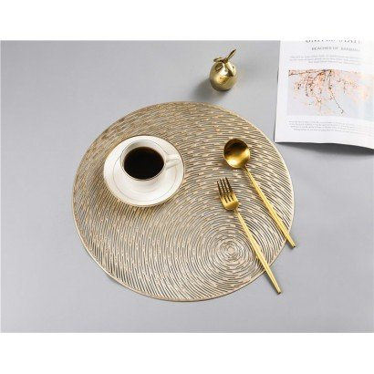 Non-slip placemat - Gold