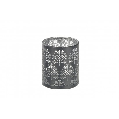 Candlestick in metal H8 cm