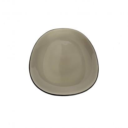 Ceramic pebble soup plate...