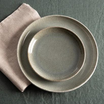 Assiette plate en ceramique...