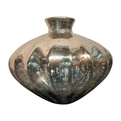 Vase ETNICO en verre gris...