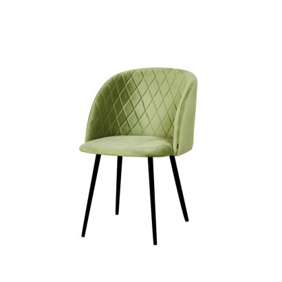 Upholstered dining chair -...