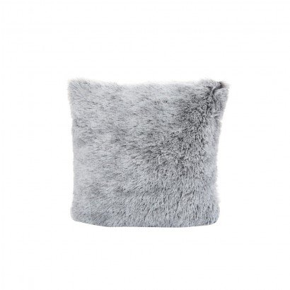 Coussin shaggy bicolore...