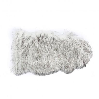 Tapis shaggy 50x90cm - White