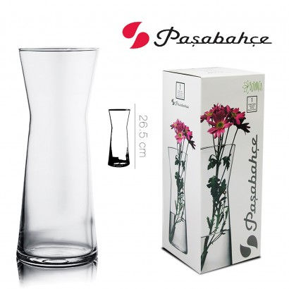 Vase FLORA en verre 26,5 cm