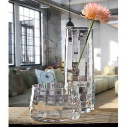 Krosno vase en cristallin H30