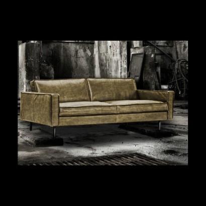 Sofa 3 seats in camel...