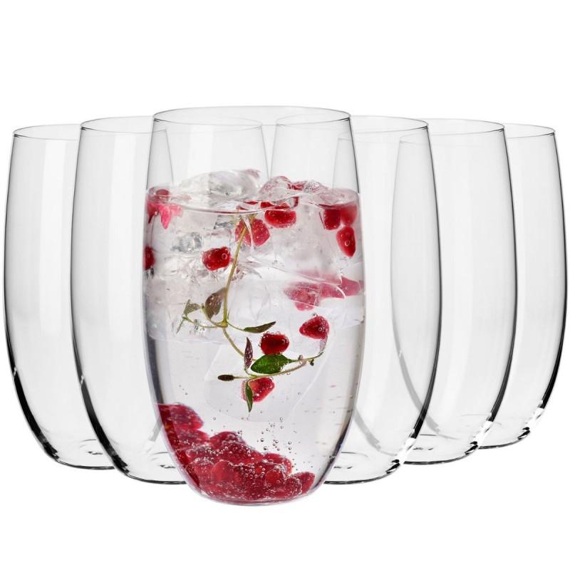 Krosno let de 6 verres en cristallin 510ml
