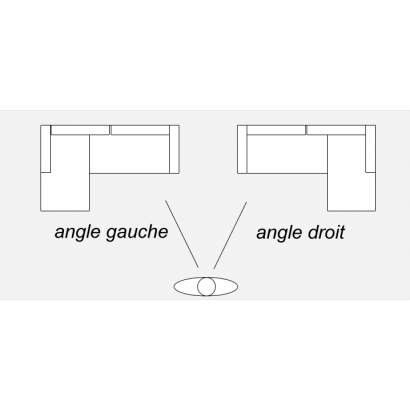 Canapé d'angle convertible...