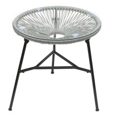 MEXICO table pieds métal...
