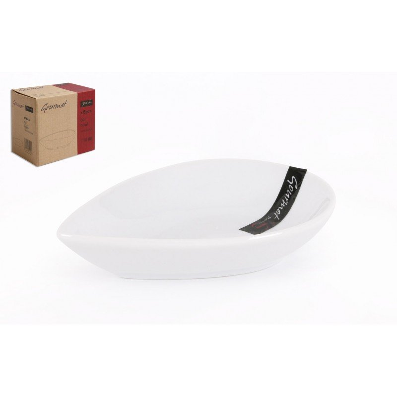 Pica-Pica Gourmet bol blanc 14x10,3x3,5 cm