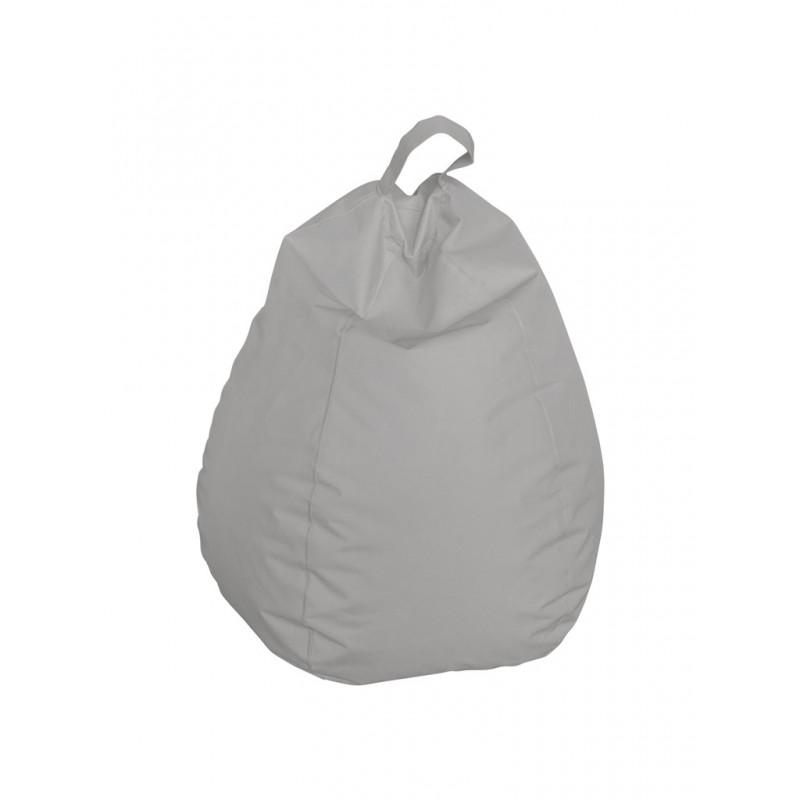 Pouf XXL forme poire en tissu ,usage intérieur/extérieur, 75 x 75 x H120 cm