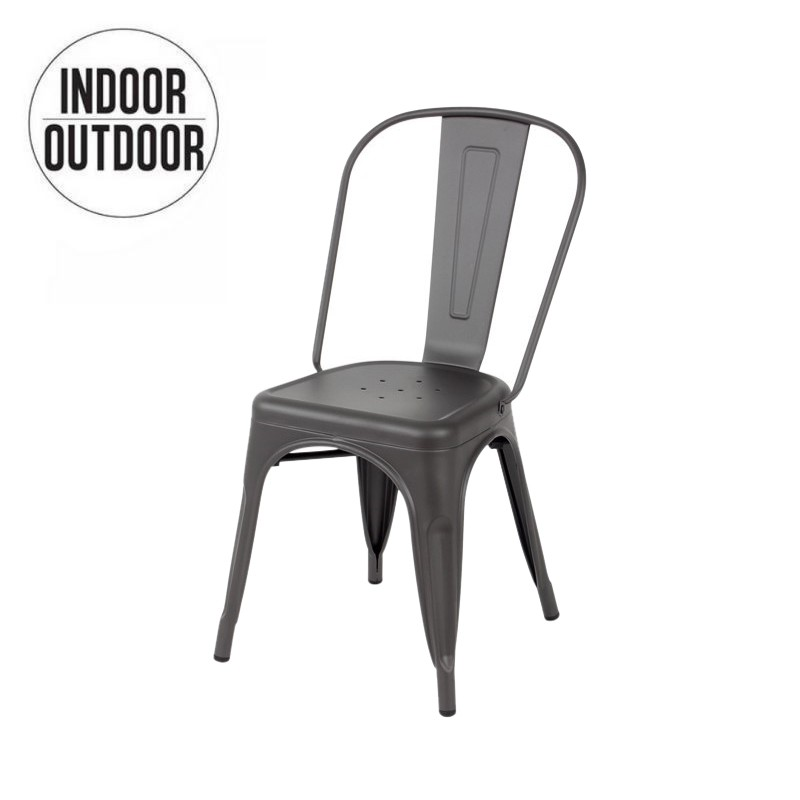 Lix industrial chair inspired Tolix loft
