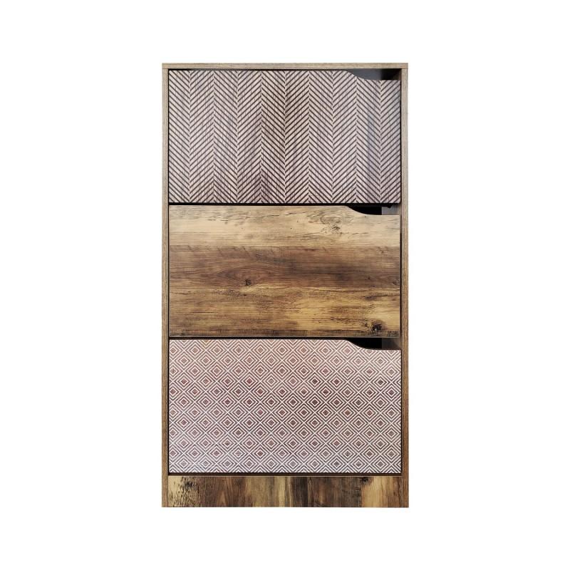 ELLA shoe rack in wood