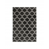 Shaggy tapijt Berber stijl, 160x230 cm-Verso Kleur Zwart