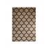 Tapis Shaggy style berbère, 160x230 cm-Verso Couleur Marron
