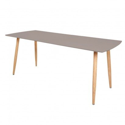 STOCKHOLM Table Extensible 140/180x80xH75cm TAUPE