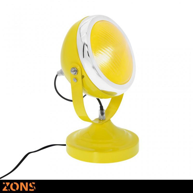 DEUCHE Lampe A Poser Touche 3 Couleurs JAUNE