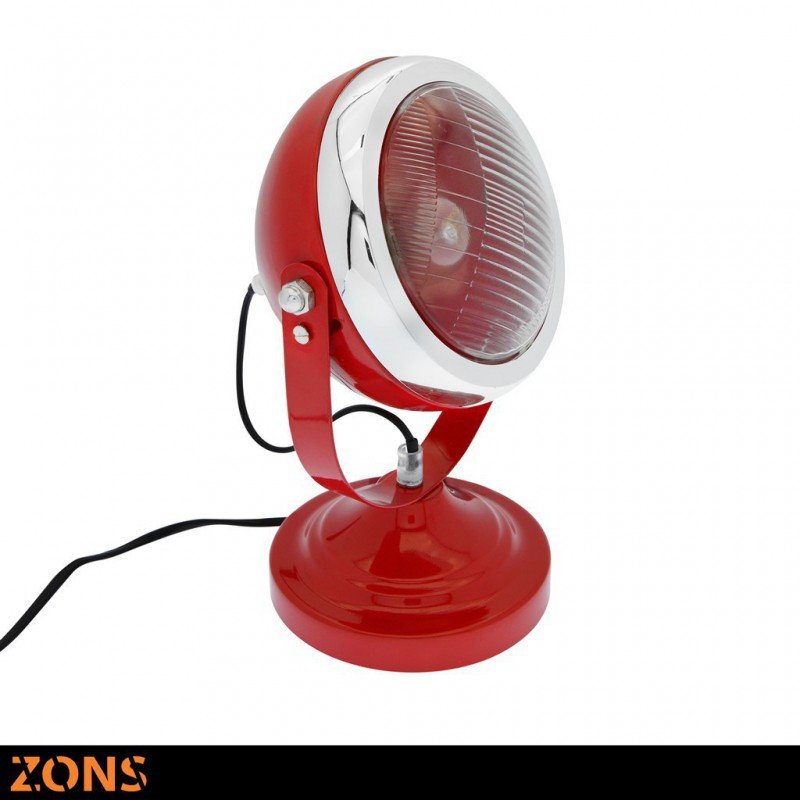 DEUCHE Lampe A Poser Touche 3 Couleurs ROUGE