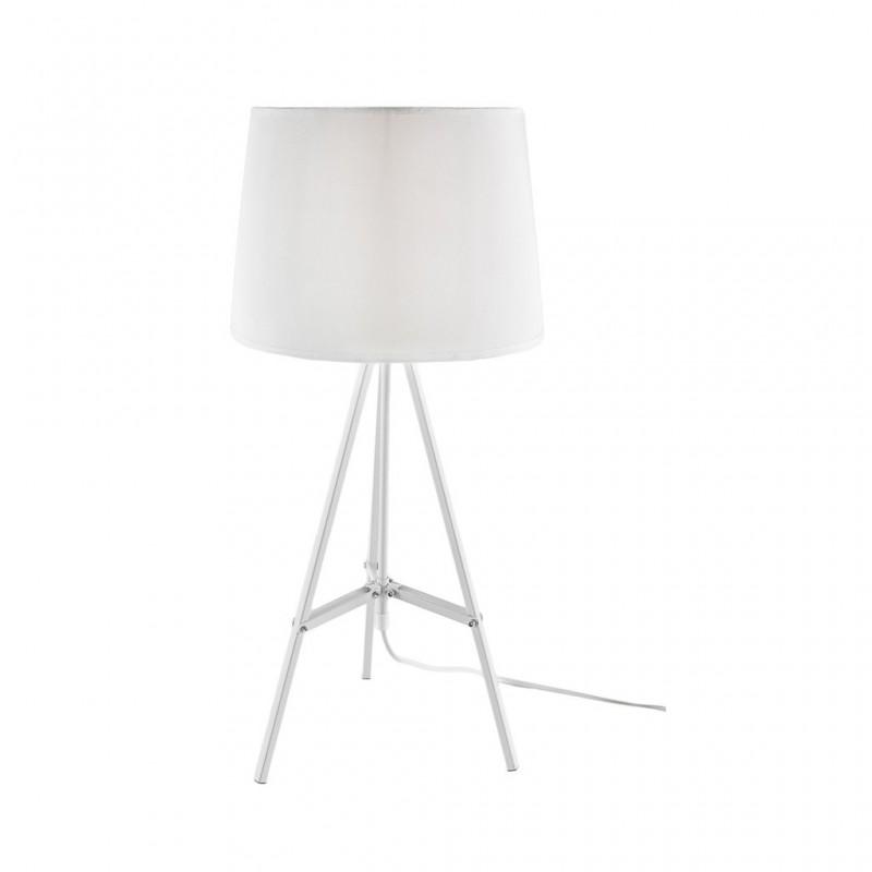 Lampe À Poser 30x30xH65cm BLANC