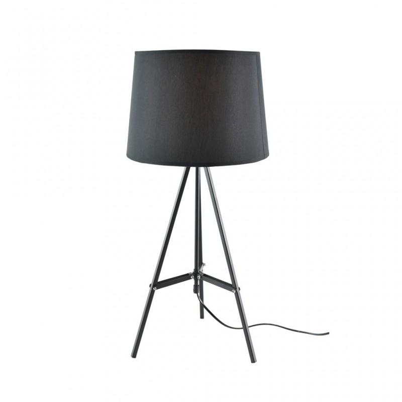 Lampe À Poser 30x30xH65cm NOIR