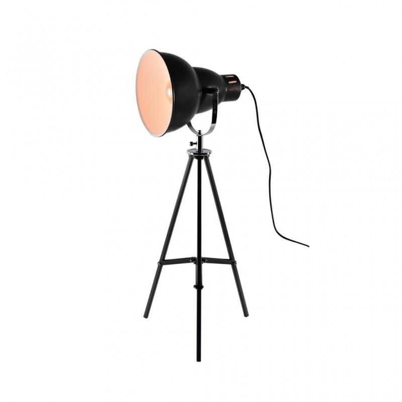 Lampe À Poser 26x26xH65cm NOIR