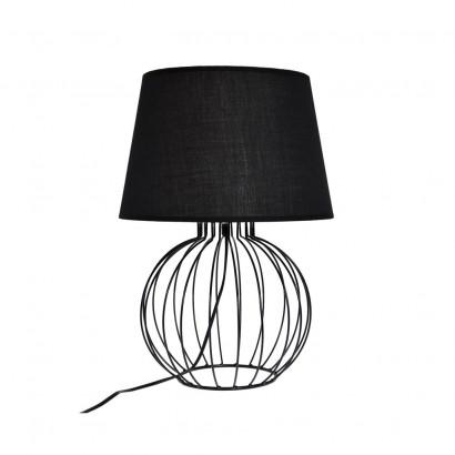 Lampe filaire géométrique Noir