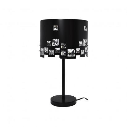 BAHIA Lampe 100 % métal Noir
