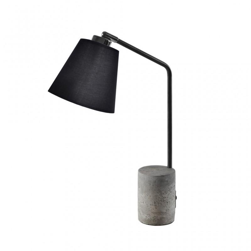 Lampe À Poser 15x36xH46cm NOIR