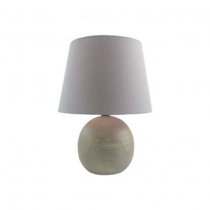 Lampe en bois Gris