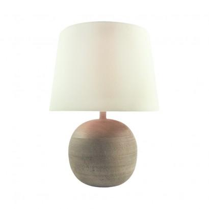 Lampe En Bois 30x30xH40cm BEIGE