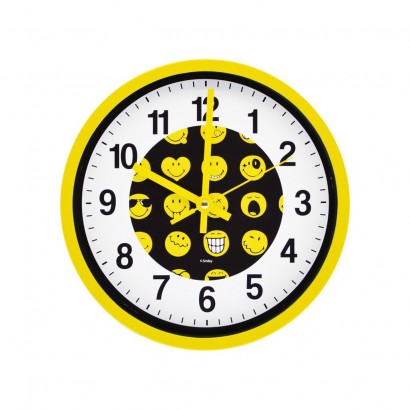 Horloge Licence SMILEY WORLD D25cm