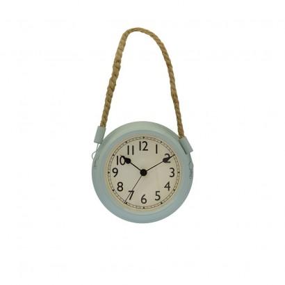 Horloge Murale Métal D20cm 4 couleurs VERT