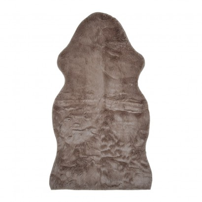 Faux fur Brown 70x125cm floor mats