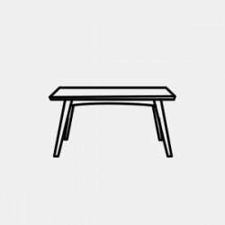 Tables à dîner Dans la maison, la table rassemble famille et amis en toutes occasions. En bois blond pour une ambiance scandinave, en métal pour un style industriel ou autres , nos tables à manger se fondent dans tous les intèrieurs