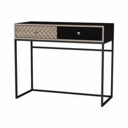 Wall table LINDA black with...