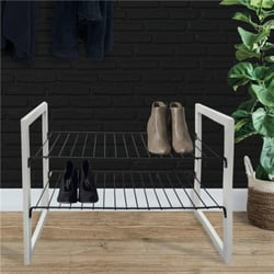 JUSTIN Shoe rack WHITE