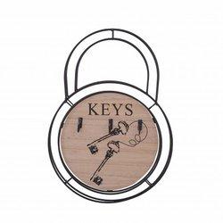 Porte clés Noir avec...