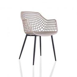 Chaise à accoudoirs design...