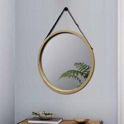 ANJA bamboe spiegel D38 cm