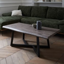 Rectangular coffee table Grey