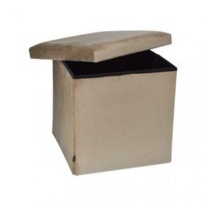YANE stool box stool velvet...